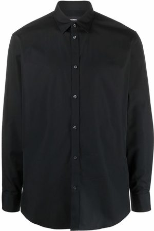 Dsquared2 Embroidered-logo detail shirt
