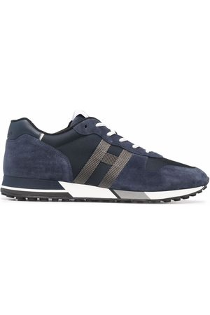 Hogan H383 lace-up suede sneakers