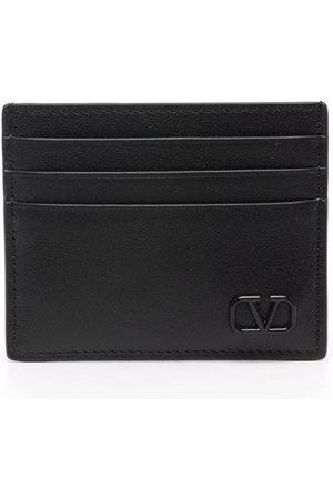 Valentino Garavani Men Wallets - Vlogo plaque cardholder