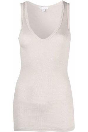 James Perse U-neck sleeveless top