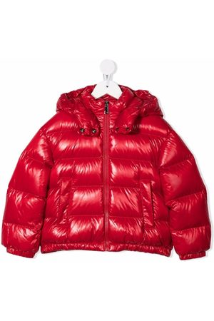 Moncler Logo-print puffer jacket