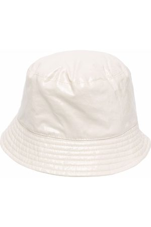 Isabel Marant Logo-embroidered bucket hat