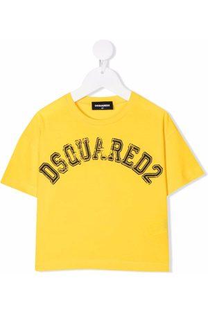 Dsquared2 Girls Short Sleeve - Logo-print cotton T-shirt