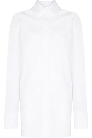 The Attico V-neck long sleeve shirt