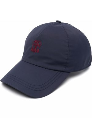 Brunello Cucinelli Men Hats - Embroidered-logo cap