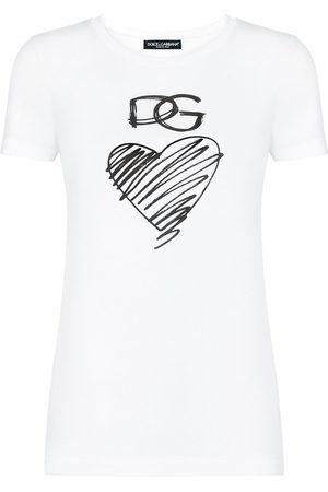 Dolce & Gabbana Women Short Sleeve - Logo-print T-shirt