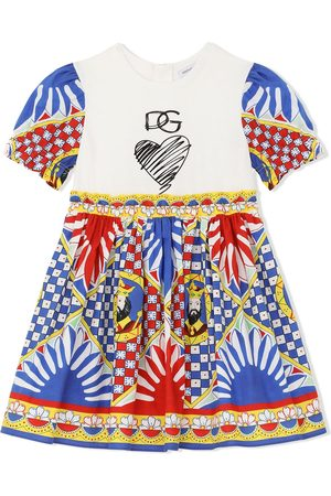 Dolce & Gabbana Kids Graphic-print dress