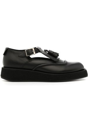 Emporio Armani Women Loafers - Cut-out buckled loafers