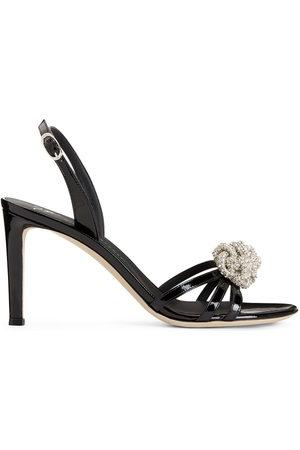 Giuseppe Zanotti Crystal-embellished stiletto sandals