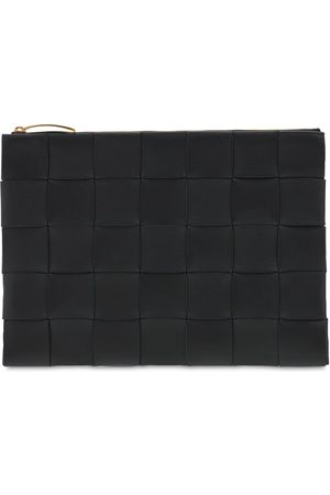 Bottega Veneta Md Intreccio Nappa Leather Pouch