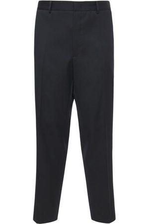 JIL SANDER Light Wool Gabardine Pants