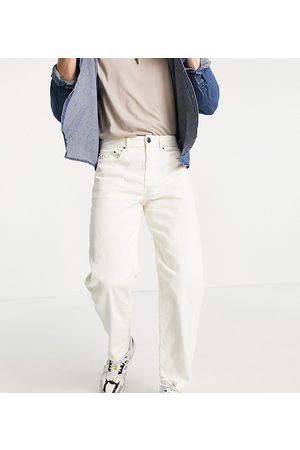 New Look Loose cord trousers in off
