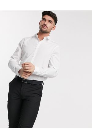 New Look Long sleeve poplin shirt in