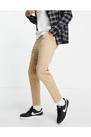 New Look Tapered chino in tan