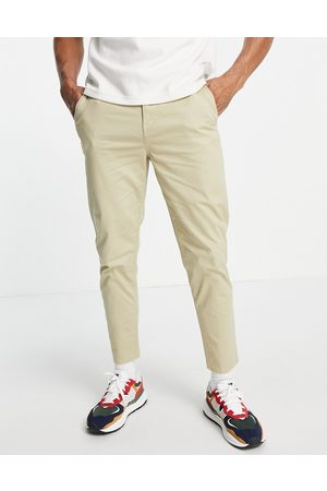 New Look Tapered chino in stone