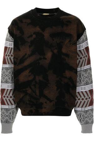 PACCBET Bleached crew neck sweatshirt