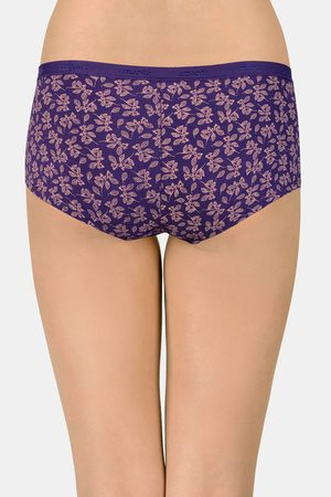 Amante Printed Low Rise Boyshorts Pack of 2