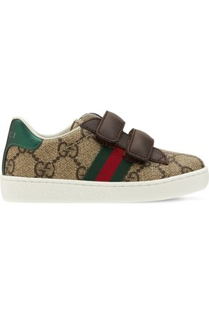 GUCCI Faux Leather Sneakers