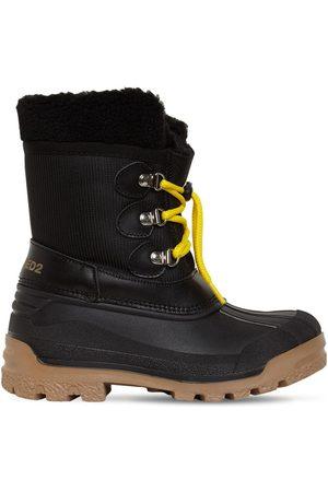 Dsquared2 Nylon & Rubber Snow Boots