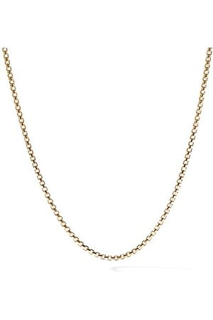 David Yurman 18K Yellow Box Chain Necklace