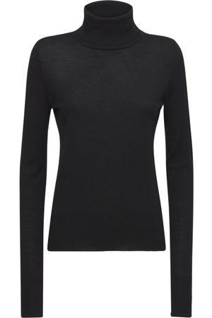 SAPIO Wool Knit Turtleneck Sweater