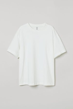 H&M Women T-shirts - Wide cotton T-shirt