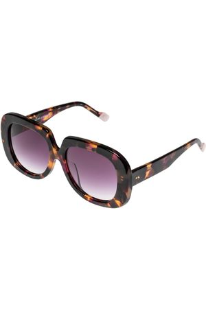 Le Specs Bed of Roses Vintage Rose Tort Sunglasses
