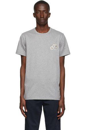 Moncler Grey Chest Logo T-Shirt