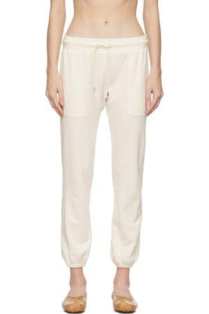 Women Loungewear - Frame Off-White Au Natural Lounge Pants