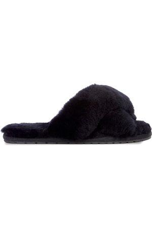 Emu EMU Mayberry Crossover Sheepskin Slipper Slide