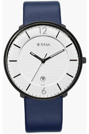 Titan Men Watches - Men Analog Watch with Leather Strap - 1849NL01