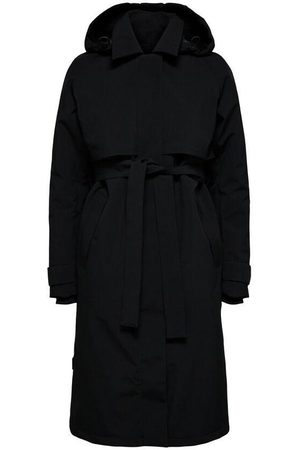 SELECTED Hooded Technical Trenchcoat