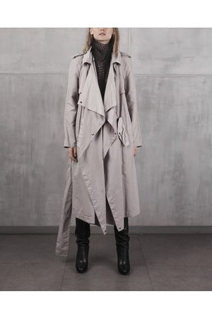 Kristar Design Women Trench Coats - Kristar - Almond transeasonal trench coat Anna French