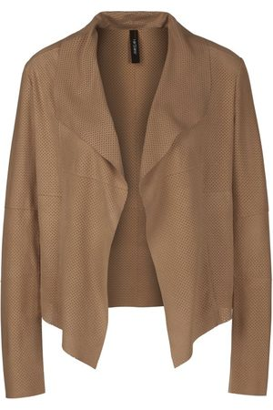 Marc Cain PERFORATED LEATHER JACKET