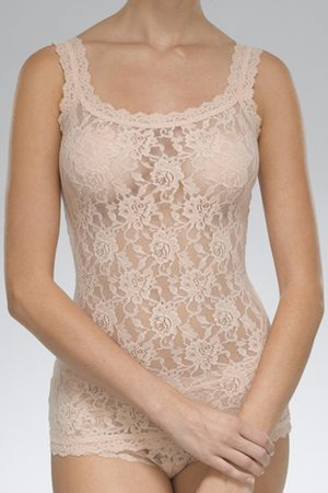 Hanky Panky Signature Lace Classic Camisole in Chai