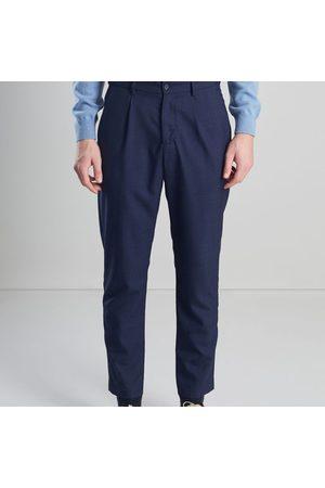 L'exception Paris Darted Suit Trousers Navy