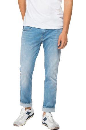 Replay Men Slim - Hyperflex Re-Used XLite Anbass Slim Fit Jeans - Light