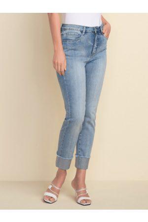 Joseph Ribkoff Denim Diamante Hem Jeans 212915