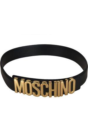 Moschino WOMEN'S A80078001555 LEATHER BELT