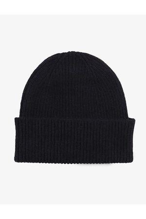 Colorful Standard Merino Wool Beanie Hat - Deep Colour: Deep Bla