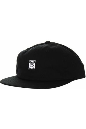 Obey Clothing Icon Face 6 Panel Hat - ONE SIZE, Colour: