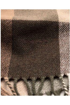 GANT Men Scarves - Java Multicheck Wool Scarf 9920051