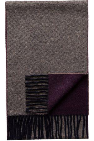 Eton Men Scarves - Purple / Marled Double Sided Wool Scarf A00031897700