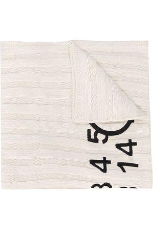 MM6 MAISON MARGIELA Logo print scarf