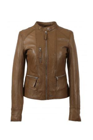 Oakwood Each Collarless Biker Jacket