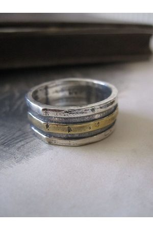 Collard Manson Rings - 925 Solid Silver and Plated Bands Ring