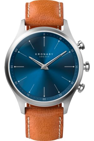 Kronaby Sekel 41mm - Tan Leather Strap