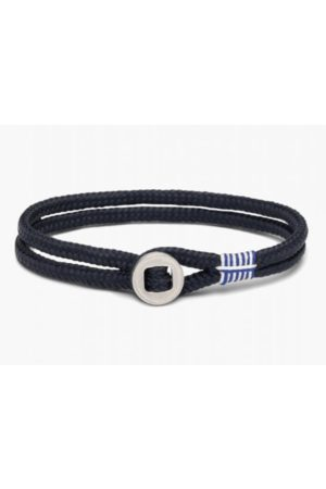 pig & hen Don Dino Bracelet in Navy and Silver