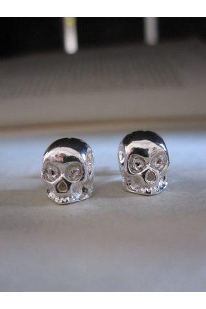 Collard Manson Earrings - CollardManson 925 Shiny Skull Studs