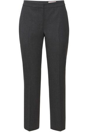 Alexander McQueen Women Formal Trousers - Wool Tailoring Pants